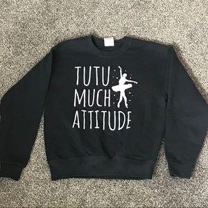 Girls Graphic Sweater